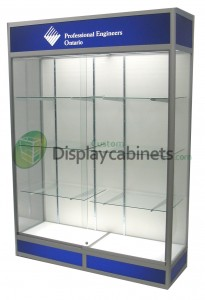 Wall Upright Display Cabinet